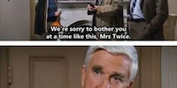 I really miss Leslie Nielsen