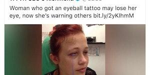 Eye opener.