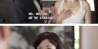 Ban on gay weddings