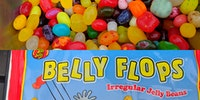 Jelly Belly sells factory rejects called Belly Flops