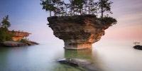Upside-down Island.