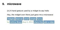 Microwave (noun):