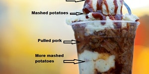 The Meat Man Parfait.