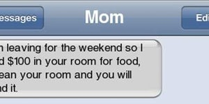 A smart mom.