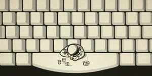 The space bar.