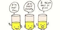 Optimist, pessimist, realist.