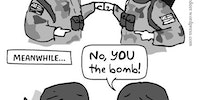 No, YOU the bomb!