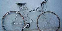 Twisted bike.