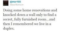 Doing some home renovations...