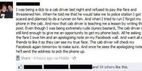Epic taxi driver.