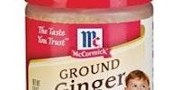 Ground ginger.
