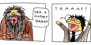 Yer a muppet Harry...