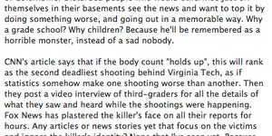 Morgan Freeman on the CT shooting.