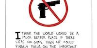 A world without guns.
