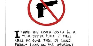 A world without guns.