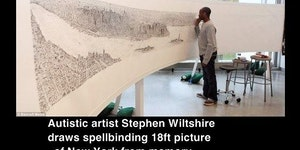 Stephen Wiltshire, genius.