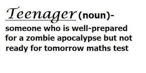 Teenager (noun).