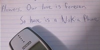 Nokia is forever.