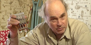 Watching us from above like a proper shit hawk. RIP John Dunsworth