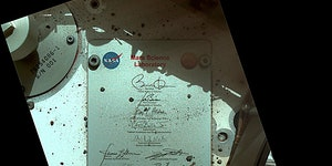 Let's not forget Curiosity is cruising around Mars with Obama's autograph