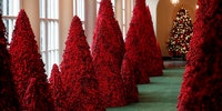 A Very Red Whitehouse Christmas