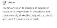 Shaken Cosmonaut Syndrome