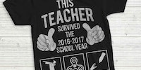 Teacher survives another school year
