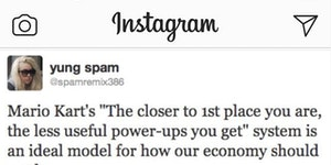 Instagram economics 101