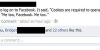 Cookies are required to operate.