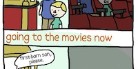 Going to the movies, then and now.
