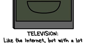 Television: Like the Internet, but...