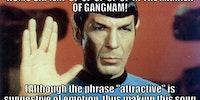 Oppa Gangnam Spock