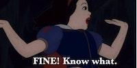 Sassy Snow White.
