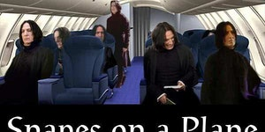 Snapes on a plane.