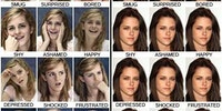 The moods of Kristin Stewart.