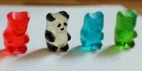 Gummy panda.