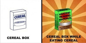 Cereal  box.