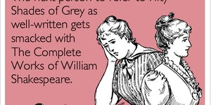 My thoughts on Fifty Shades of Grey.