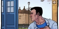 Superman meets Dr. Who.