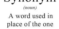 Synonym.