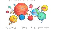How do you organize a space party?