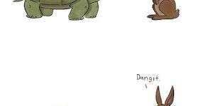 Tortoise vs. Hare.
