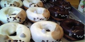 Kitteh doughnut.