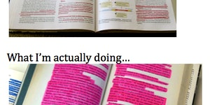 Highlighting.