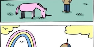 Unicorns are jerks.