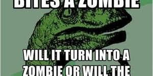 If a vampire bites a zombie...