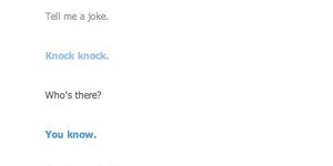 Well played Cleverbot, well played.