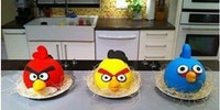 Angry cakes.