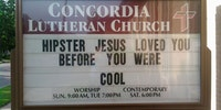 Hipster Jesus.