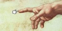 The hand of God.